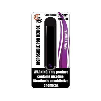 Eonsmoke Disposable 240mAh 1.3ML Salt Nicotine Pod Device - Sweet Grapes
