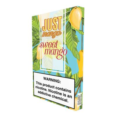 Just Mango 1ML Prefilled E-liquid Compatible Pods - Sweet Mango