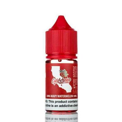 California Grown Nic Salts E-Liquid - Wavy Watermelon