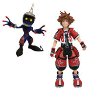 Kingdom Hearts ll Red Valor Sora Figure - One World Anime