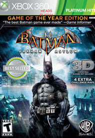 Batman Arkham Asylum Xbox 360 Pre-owned