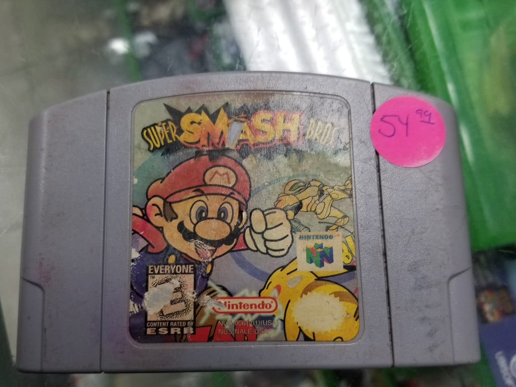 Pre-owned Super Mario Smash Bros N64 - One World Anime