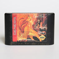 Classic Pre-owned lion king game Sega Genesis