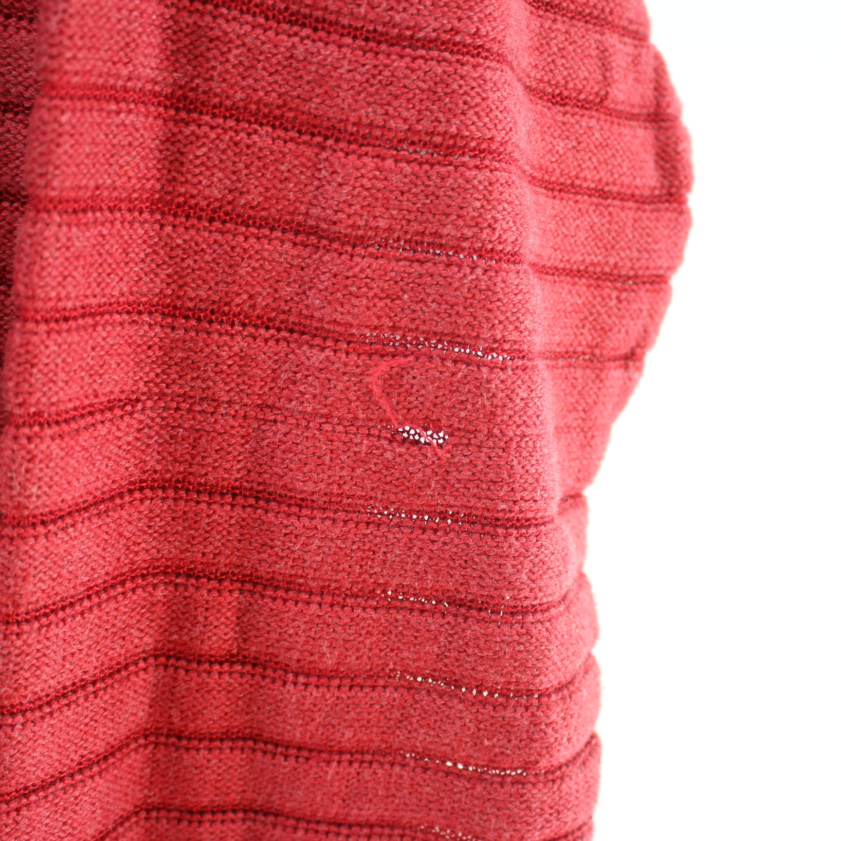 df18fc7e1 Lacoste Women s Sweater Size L 44 in Red Crew Neck Striped Long Sleeve