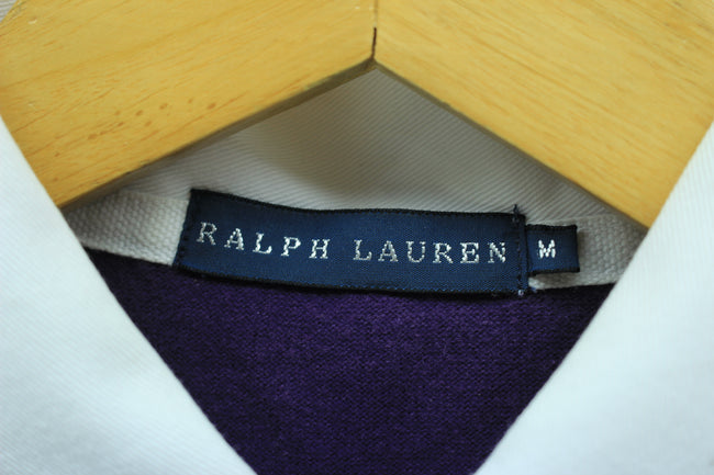 Ralph Lauren Women's Polo Shirt Size M Blue Long Sleeve Cotton Casual, Polo Shirt, Ralph Lauren, - Top-Garms