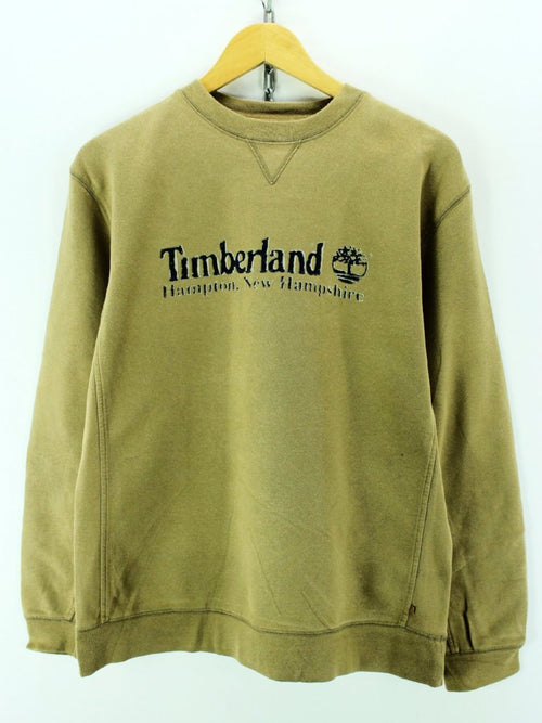 Timberland Men's Sweater Size XS in Brown Color Crew Neck Long Sleeve