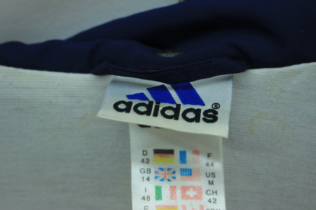 Vintage Adidas Women's Track Jacket in Navy Blue Size 14 Full Zip, Tracksuit, Adidas, - Top-Garms