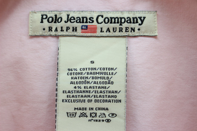 Women's Polo jeans Shirt Size S by Ralph Lauren, Pink Longsleeves Shirt, Shirt, Ralph Lauren, - Top-Garms