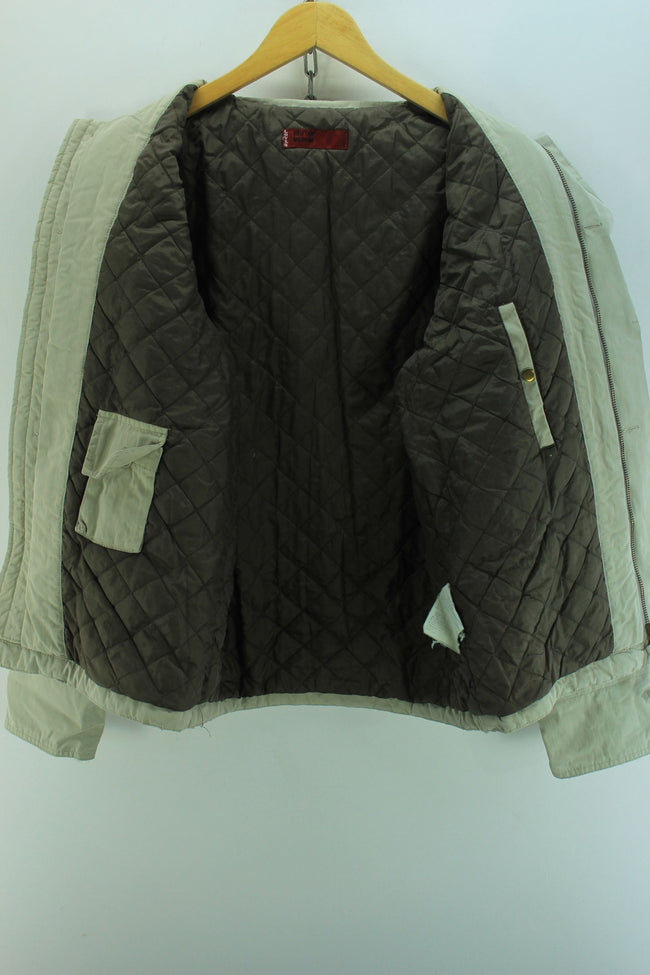 Levi's Men's Jacket in Grey Size M Grey Quilted Interior Jacket, Coat's & Jacket's, Levi's, - Top-Garms