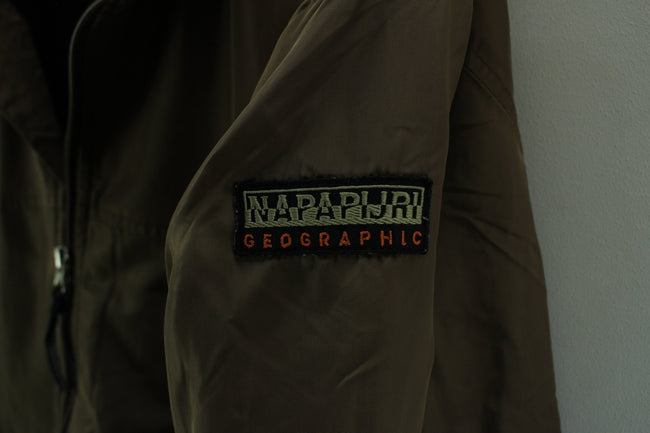 Napapijri Men's Outdoor Jacket in Brown Size XL Full Zip Jacket, Coat's & Jacket's, Napapijri, - Top-Garms