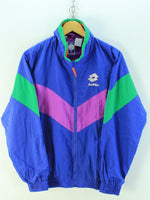 Vintage LOTTO Men's Full Zip Tracksuit, Size S, Full-Zip Tracktop, Tracksuit, LOTTO, - Top-Garms