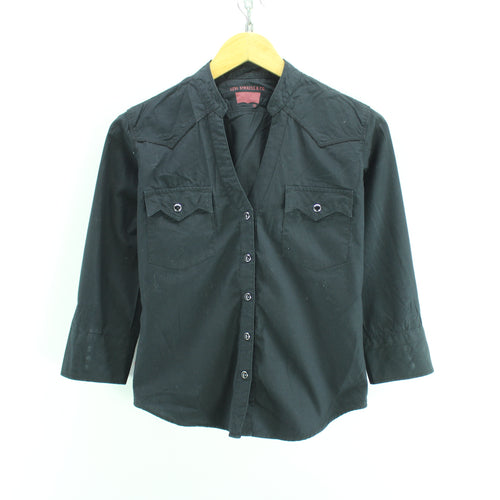 Levi's Women's Open Collar Shirt Size M