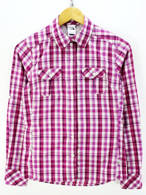 The North Face Women's Shirt, Size XS, Long Sleeve, Pink, Casual Shirt