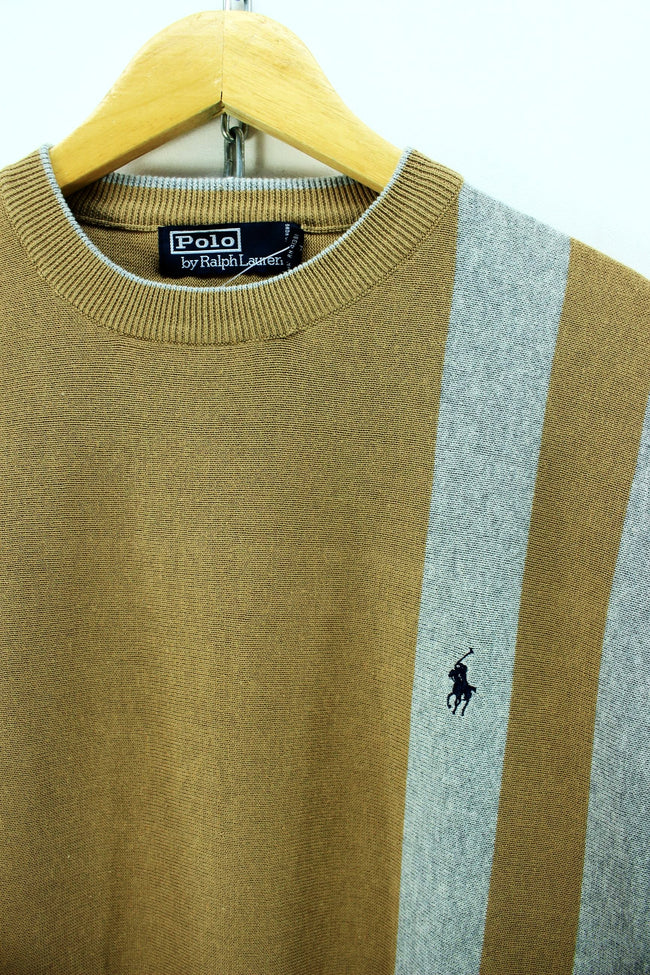 Polo Ralph Lauren Men's Crew Neck Jumper Size XL Long Sleeve Sweater, Jumper Sweater, Ralph Lauren, - Top-Garms