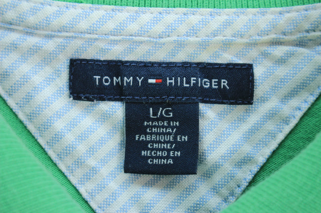 Tommy Hilfiger Women's Polo Shirt Size L Green Shortsleeves Polo shirt, Polo Shirt, Tommy Hilfiger, - Top-Garms