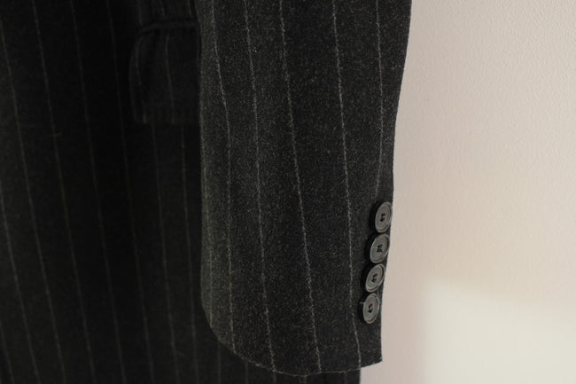 Superb Hugo Boss Men's Overcoat Size 52 L Black Wool Neron Coat Made in Poland, Coat's & Jacket's, HUGO BOSS, - Top-Garms