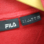 FILA Men's Polo Shirt Size L Red Short Sleeve Cotton Casual Polo Shirt, Polo Shirt, FILA, - Top-Garms