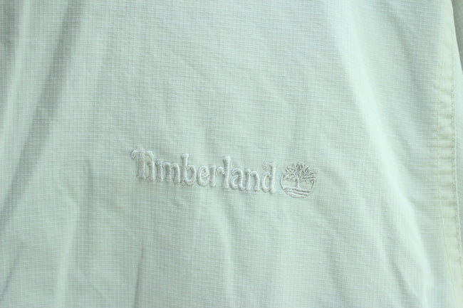 Timberland Men's Outdoor Jacket Size XL, Ivory Full Zip Bomber Jacket, Coat's & Jacket's, Timberland, - Top-Garms