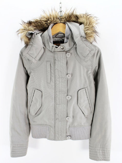 Authentic Women's WOOLRICH Outdoor jacket Size S Insulated arctic coat