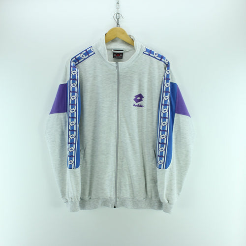 Vintage Lotto Men's Track Jacket Size L