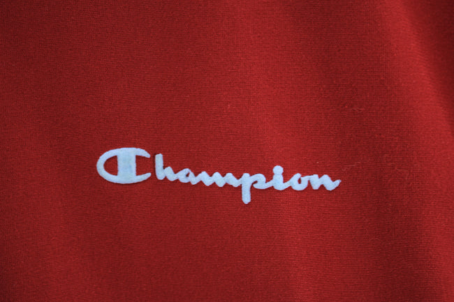 Champion Men's Track Jacket, Full-Zip Cardigan, Size 164/14yrs old S - Top-Garms