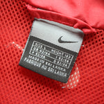 Nike Full Zip Track Jacket in Red Size L 42 / 44 Shell Tracksuit top, Tracksuit, NIKE, - Top-Garms