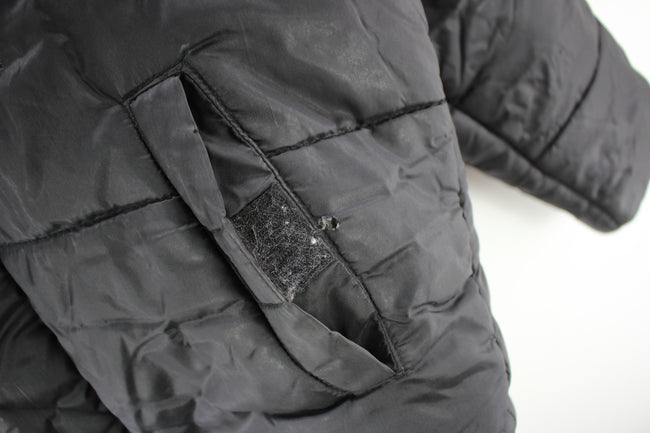 Vintage SORBINO Men's Padded Jacket Size M Black Full zip, Coat's & Jacket's, SORBINO, - Top-Garms