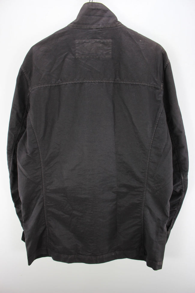 Trussardi Men's Deninm Jacket in Black Size XL Work or Biker Jacket, Coat's & Jacket's, Trussardi, - Top-Garms