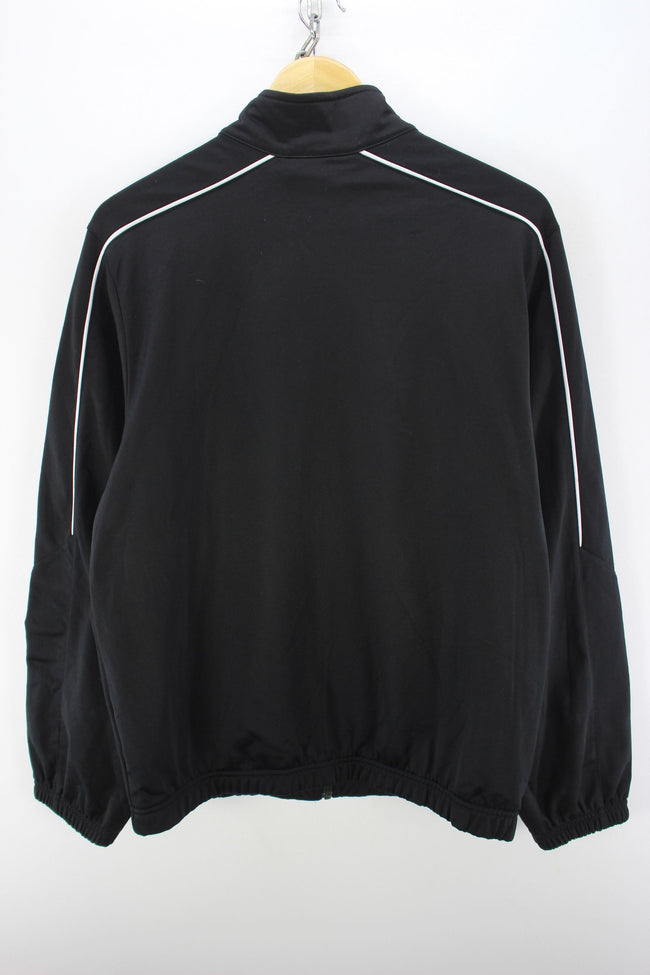 Nike Full Zip Track Jacket in Black Size S Running Tracksuit top, Tracksuit, Nike, - Top-Garms