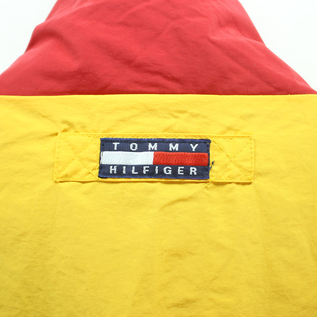 Vintage Tommy Hilfiger Reversible Jacket in Yellow & Blue Size M Coat, Coat's & Jacket's, Tommy Hilfiger, - Top-Garms