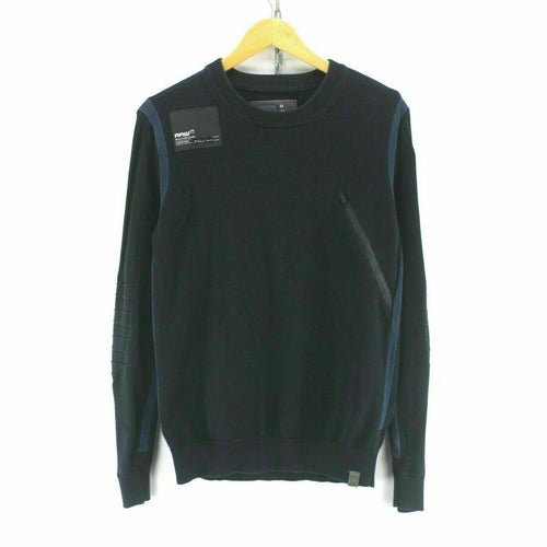 G-Star Men's Jumper in Black Size M Long Sleeve