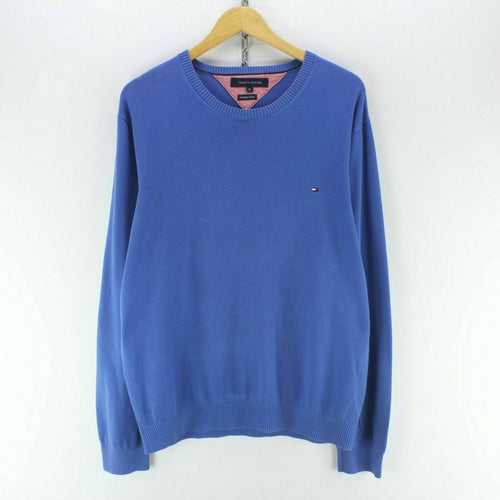 Tommy Hilfiger Men's Jumper Size XL in Blue