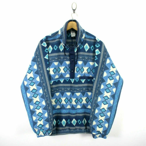 Colmar Men's Nordic Fleece Sweater Size 5 Diamond Patterns