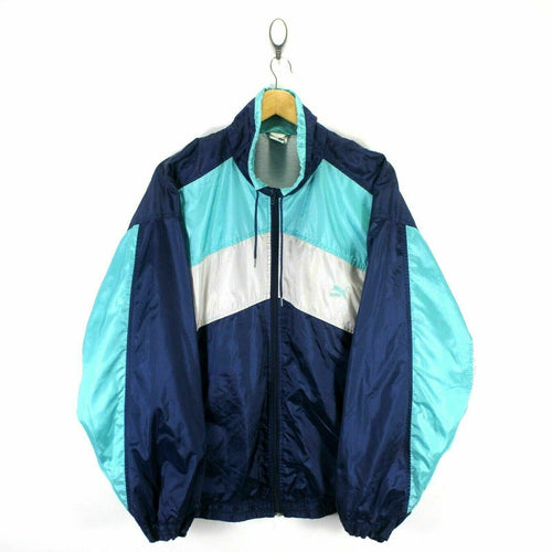 Retro Vintage PUMA Men's Track Jacket Size 8