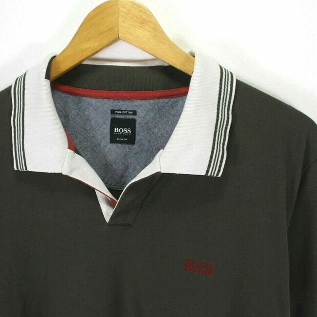 HUGO BOSS Men's Polo Shirt Size L