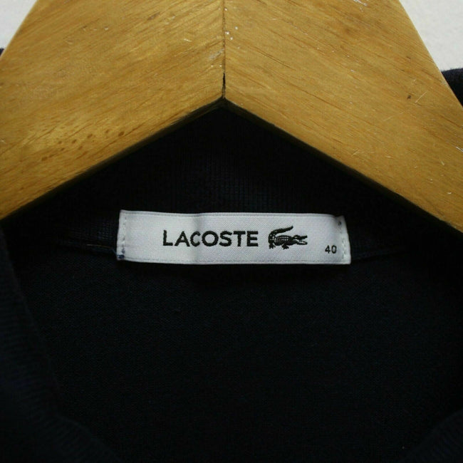 Lacoste Women's Polo Shirt in Blue Size 40 M