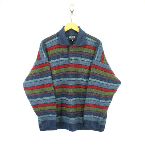 Vintage iMaschi Men's Wool Jumper Size 52