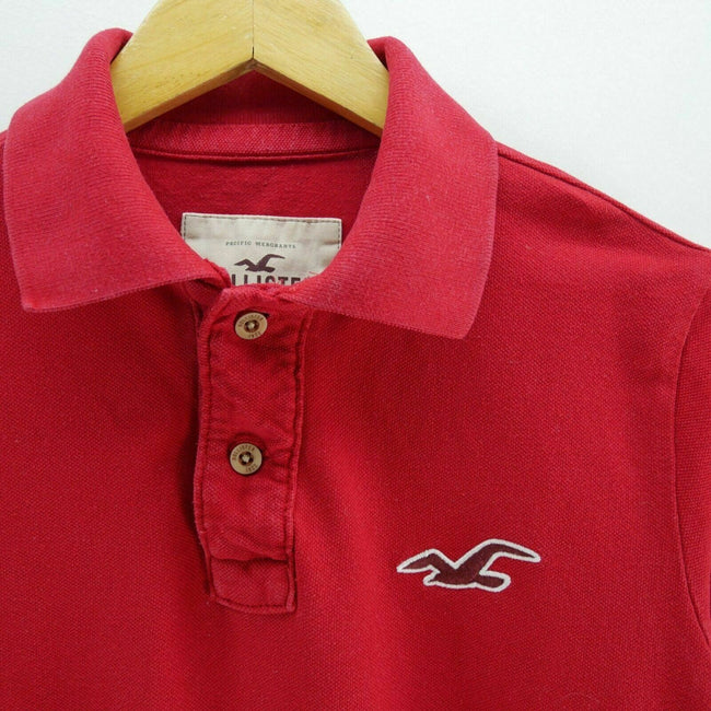 Hollister Men's Polo Shirt Size M