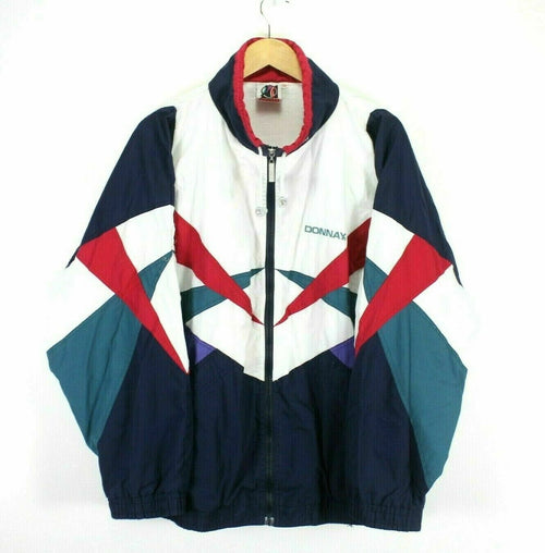 Vintage 80's Men's Retro Track Jacket Size XL