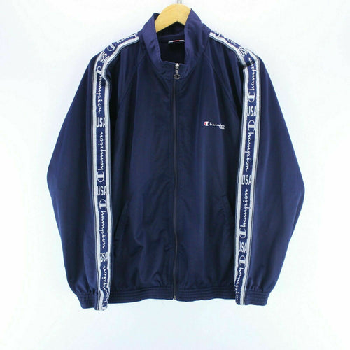Vintage Champion Men's Track Jacket Size L