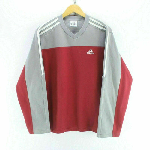 adidas Men's Sweatshirt in Red Size S