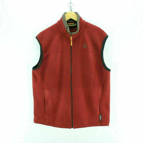 Timberland Men's Fleece Red Size M