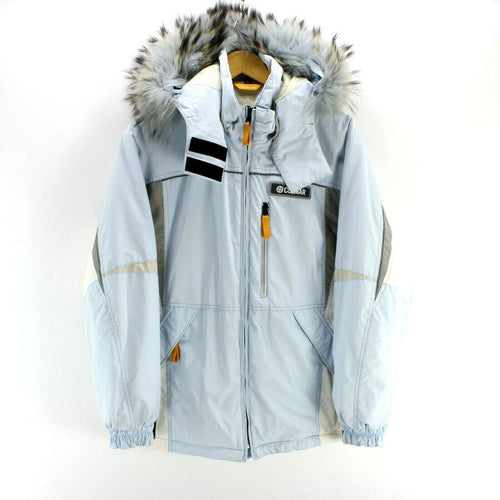 Colmar Mens Ski Jacket in Light Blue Size M Full Zip Skidoo Coat