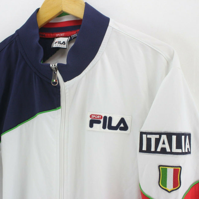 FILA Italia Men's Track Jacket Size XL