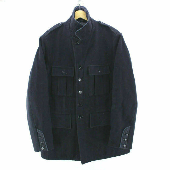 Stone Island Denims Men's Coat in Black Size L Casual Top Quality Jacket, Coat's & Jacket's, Stone Island, - Top-Garms