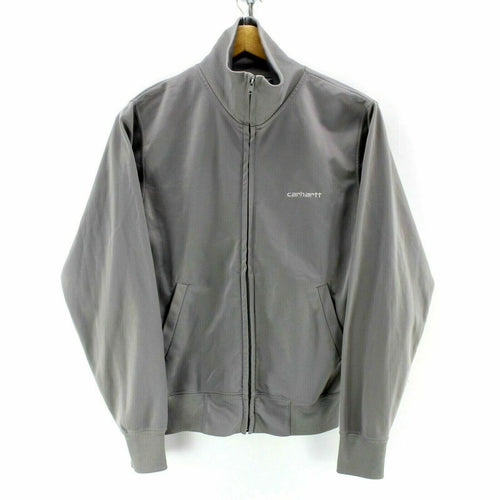 Carhartt Men's Track Jacket in Grey Size S