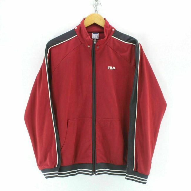 FILA Boys' Track Jacket 16Yrs or Men's S