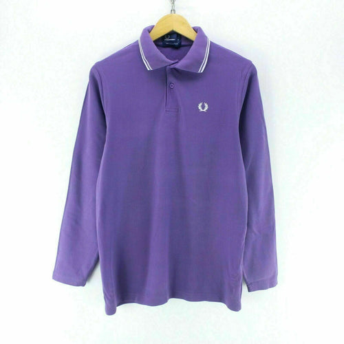 Fred Perry Women's Polo Shirt Purple Size L