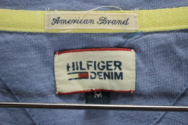 Tommy Hilfiger Womens T-Shirt, Size M Medium, Shot Sleeve, Blue, T-shirt, Tommy Hilfiger, - Top-Garms