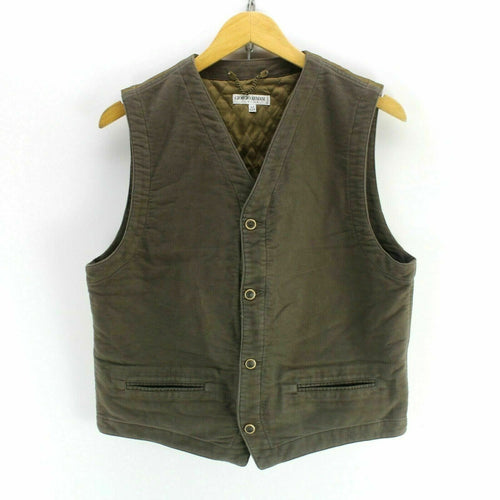 Armani Boys Vest in Brown Size 14Yrs Men's S